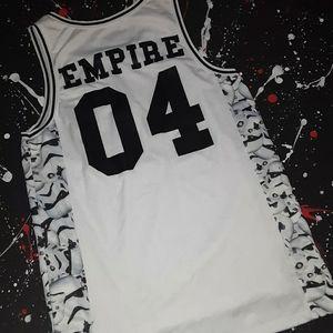 Star Wars x PacSun   Empire basketball jersey